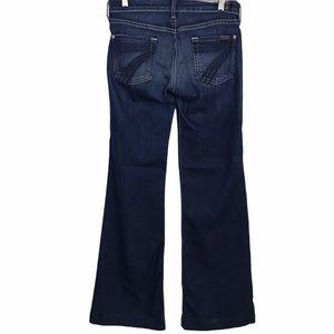 7 Seven For All Mankind Dojo Wide Leg Flare Jeans